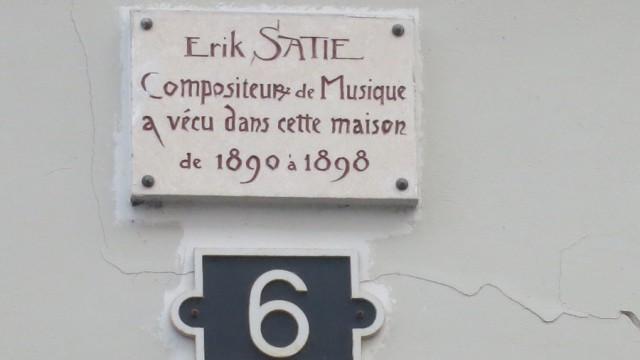 Satie, Nijinsky, Sartre & Beauvoir, Truffaut